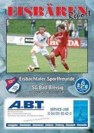 4. Ausgabe - Heimspiel gegen SG Bad Breisig -  Eisbachtaler ...