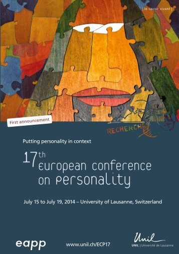 on Personality - European Association of Personality Psychology