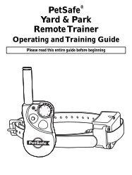 PetSafe Yard & Park Remote Trainer