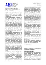 Ausgabe 2004 - Fachgebiet Leistungselektronik und Elektrische ...