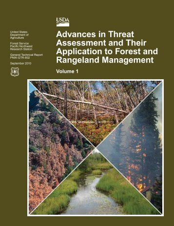 Advances in Threat Assessment and Their Application to Forest and ...