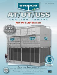 advanced technology in induced draft, counterflow cooling towers