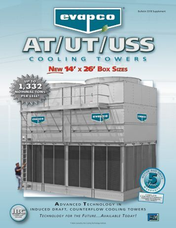 advance 2020 cooling tower manual