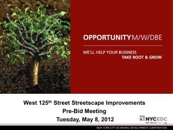 opportunity - NYCEDC