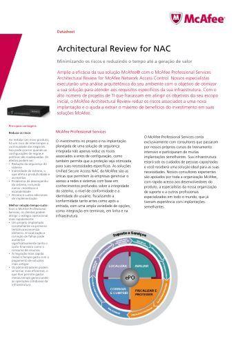 McAfee NAC - PSN Security Ltda