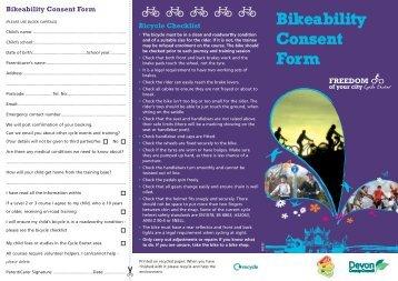 00232 Bikeability Leaflet - Magdalen Court School