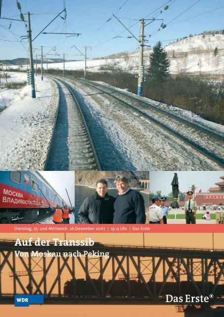 Auf der Transsib Von Moskau nach Peking - WDR.de