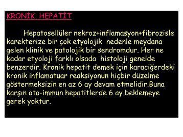 Kronik Hepatitler-2
