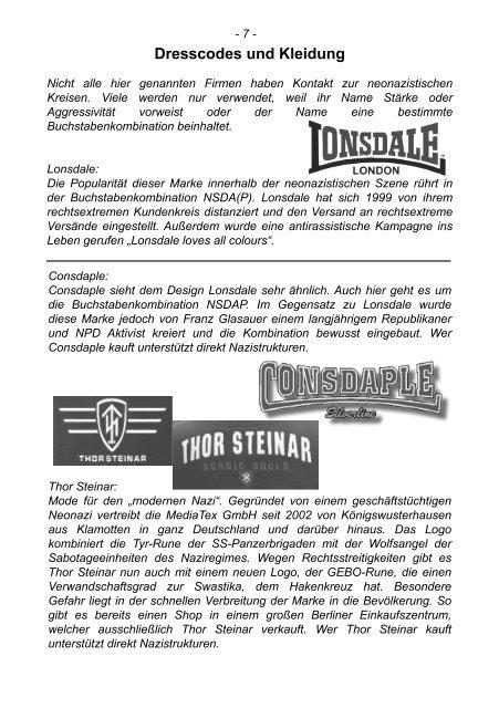 Runder Tisch gegen Rechts - Reinickendorf