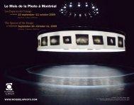 Programme officiel - Mois de la photo à Montréal