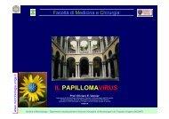 IL PAPILLOMAVIRUS - Sezione di Microbiologia