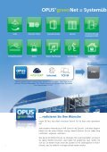 OPUS greenNet Prospekt - OPUS Schalter - Seite 6