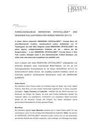 """funkelnagelneue swarovski crystallizedâ""""¢ und designer kollektionen"""