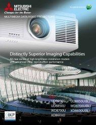 Distinctly Superior Imaging Capabilities