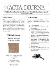 Acta 1/2011 - Turun yliopisto