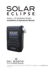 Solar Eclipse ozone + UV generator - DEL Ozone