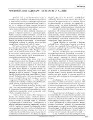 367 PROFESORUL IULIU HAţIEGANU – 125 DE ... - Clujul Medical