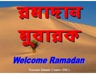 Ramadan Planning - The Message
