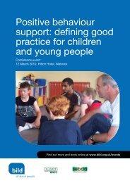 Positive behaviour support: defining good practice for ... - Nasen