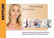 !me – Muskelpflege für zu Hause - Sportolino.de
