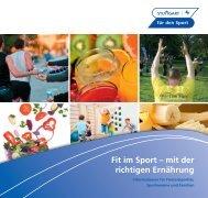 Fit im Sport – mit der richtigen Ernährung - Sportkreis Stuttgart e.V.