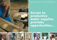 Access to productive water supplies.pdf - Multiple Use water ...