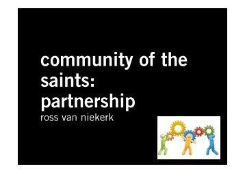 partnership - Shofar Christian Church