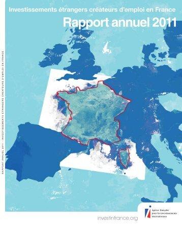 Investissements étrangers créateurs d'emploi en France Rapport ...