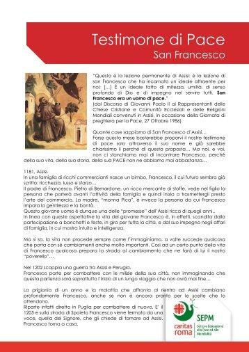 San Francesco - Caritas Roma