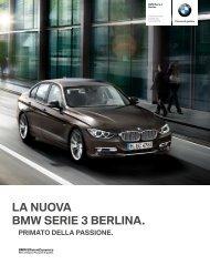 Gli optional della BMW Serie 3 Berlina