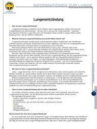 Lungenenzündung - LOT