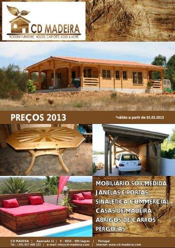 PREÇOS 2013 - CD-Madeira