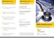 BKK RiskControl - BKK-Landesverband NORDWEST