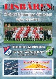 Eisbachtal, Stadionzeitung Ausgabe 01.indd