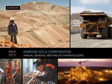 Presentation - Kinross Gold