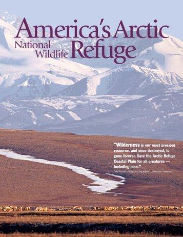 America's Arctic National Wildlife Refuge Brochure - Alaska ...
