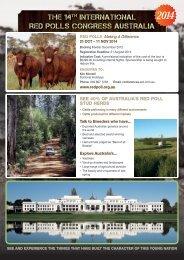 Download Brochure - Australian Red Poll Cattle Breeders ...