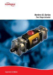 Series 61 Two Stage Electric Actuator - Process Valve Solutions Ltd