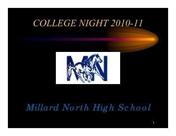 Presentation - Millard North High School