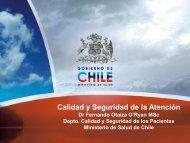 Chile. Dr. Fernando Otaiza