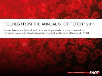 Figures From the AnnuAl shot report 2011 - Serious Hazards of ...