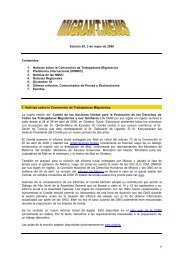 Edición 95, 3 de mayo de 2006 Contenidos 1. Noticias ... - Choike
