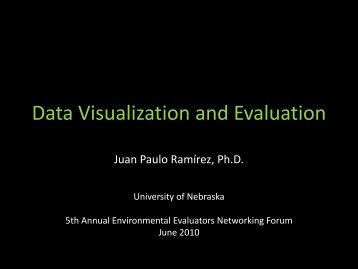 GIS and Evaluation - Environmental Evaluators Network