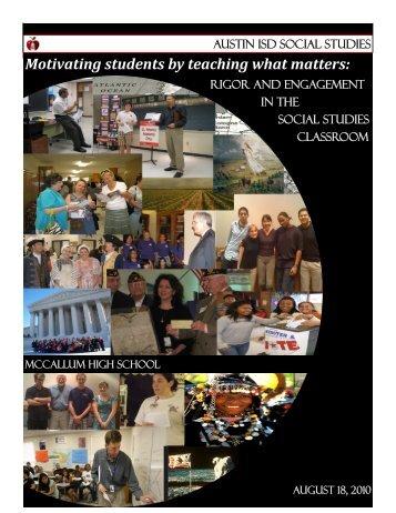 Download Program - Office of Curriculum - Austin ISD