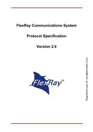 FlexRay Protocol Specification