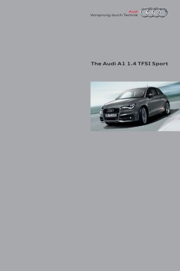 Audi A1 1.4 TFSI – Brochure & options - AUSmotive.com