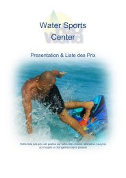 Water Sports Center - Reethi Beach Resort