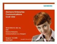 Siemens Enterprise Communications local view - NES ...