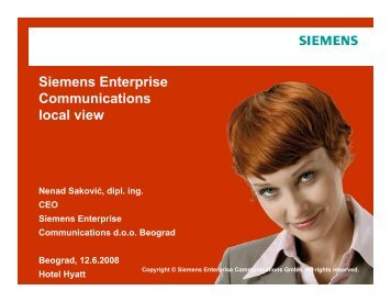 Siemens Enterprise Communications local view - NES ...