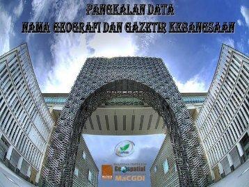 Geographical Names Database & Web Gazeeter - Malaysia Geoportal